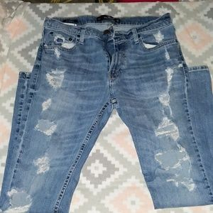 Men's Hollister Distressed Jeans